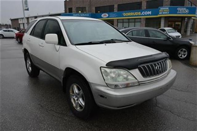 2002 lexus rx 300 base white gorruds auto group milton. Black Bedroom Furniture Sets. Home Design Ideas