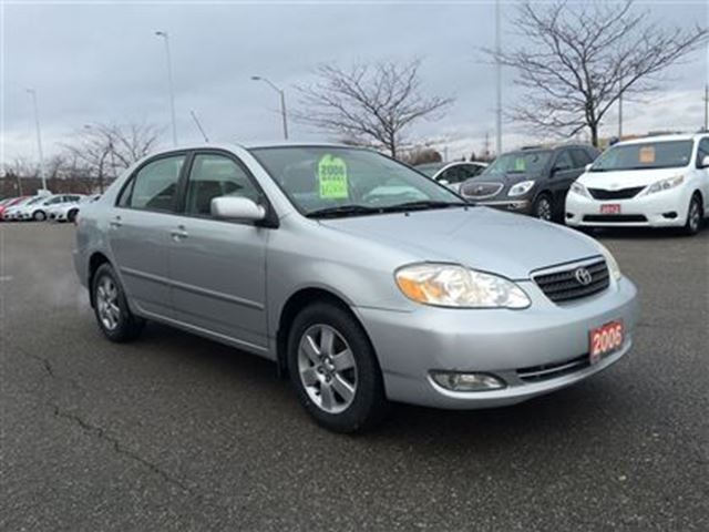 2006 toyota corolla le new tires brakes 1 owner bowmanville ontario us. Black Bedroom Furniture Sets. Home Design Ideas
