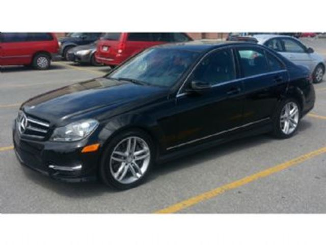 2014 mercedes benz c class 300 4matic avantgarde 1 2 tire for Mercedes benz c class service b