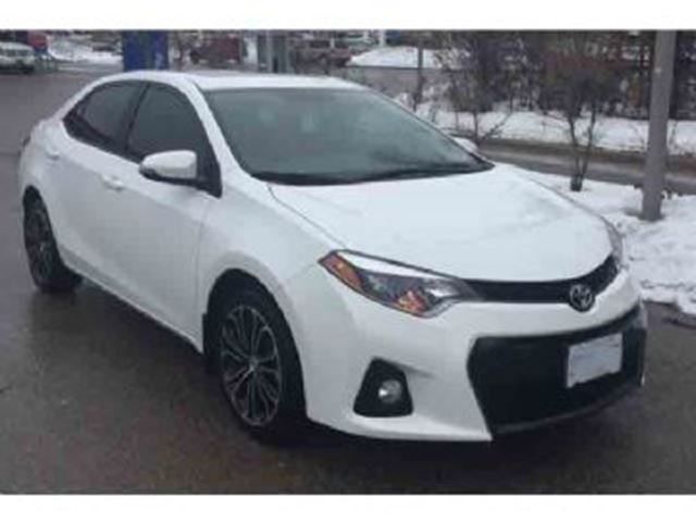 2016 toyota corolla 4dr sdn sport w upgrade pkg mississauga ontario car for sale 2687956. Black Bedroom Furniture Sets. Home Design Ideas