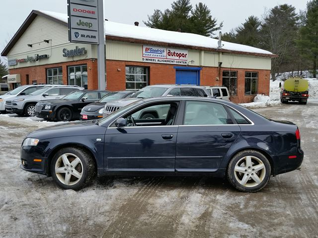 2008 Audi A4 2 0t Black For 9995 In Gravenhurst