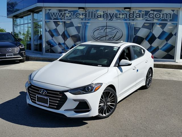 2017 hyundai elantra sport all new sport turbo only 72 weekly orillia ontario new car for. Black Bedroom Furniture Sets. Home Design Ideas