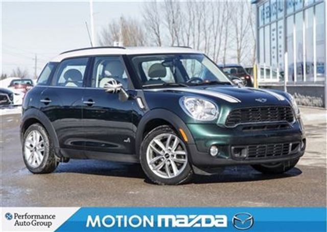 2014 mini cooper countryman cooper s all4 pano roof leather orangeville ontario used car for. Black Bedroom Furniture Sets. Home Design Ideas