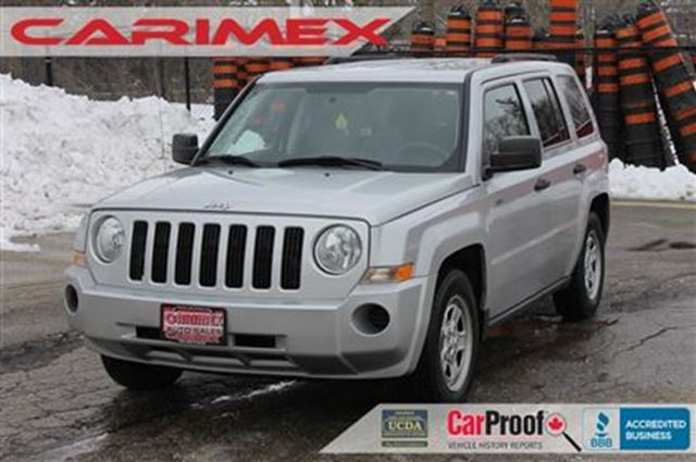 2008 jeep patriot sport north certified e tested silver. Black Bedroom Furniture Sets. Home Design Ideas