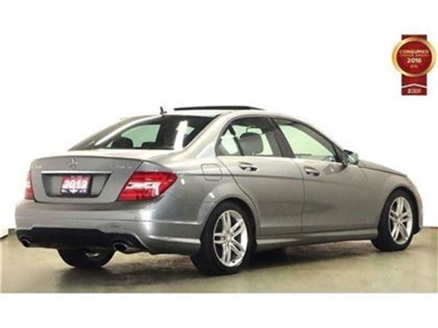 2012 Mercedes Benz C Class C250 4matic Leather Sunroof