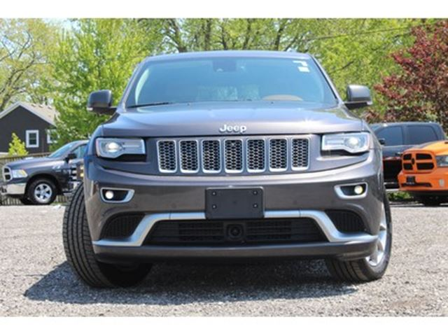 2015 jeep grand cherokee summit mississauga ontario used car for sale 2688568. Black Bedroom Furniture Sets. Home Design Ideas