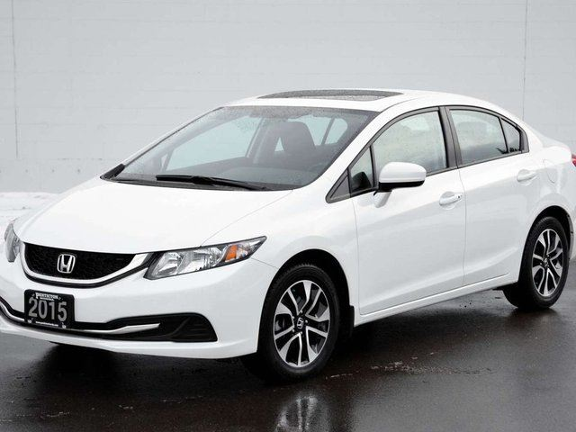 2015 honda civic ex sunroof kelowna british columbia for Honda civic sunroof