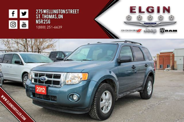 2012 ford escape xlt st thomas ontario used car for sale 2688297. Black Bedroom Furniture Sets. Home Design Ideas