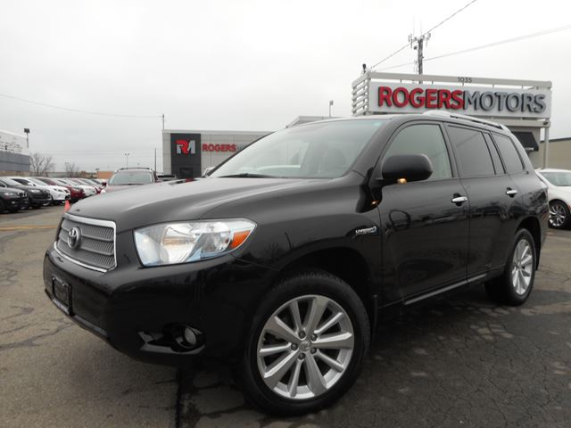 2010 toyota highlander ltd 4wd 7 pass navi leather oakville ontario used car for sale. Black Bedroom Furniture Sets. Home Design Ideas