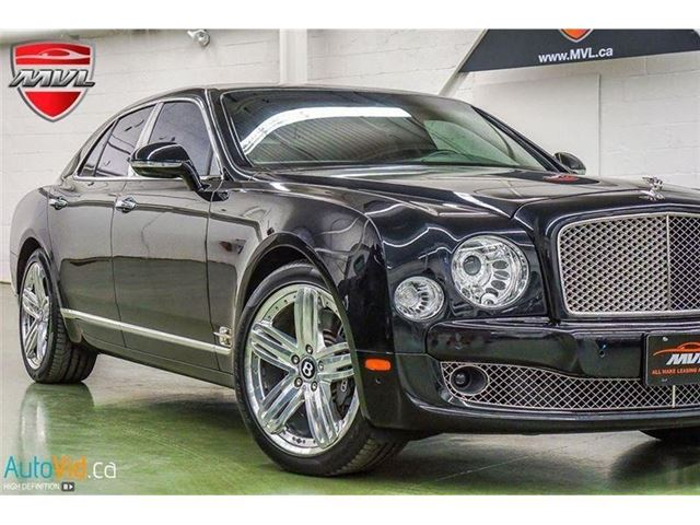 2011 BENTLEY MULSANNE - in Oakville, Ontario