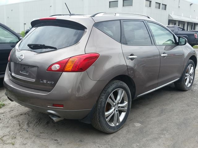 2009 nissan murano le ottawa ontario car for sale 2688029. Black Bedroom Furniture Sets. Home Design Ideas