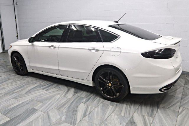 White Ford Fusion Sunroof >> 2014 Ford Fusion TITANIUM! AWD!! NEW TIRES! NEW BRAKES! LEATHER! NAVIGATION! SUNROOF! BLUETOOTH ...