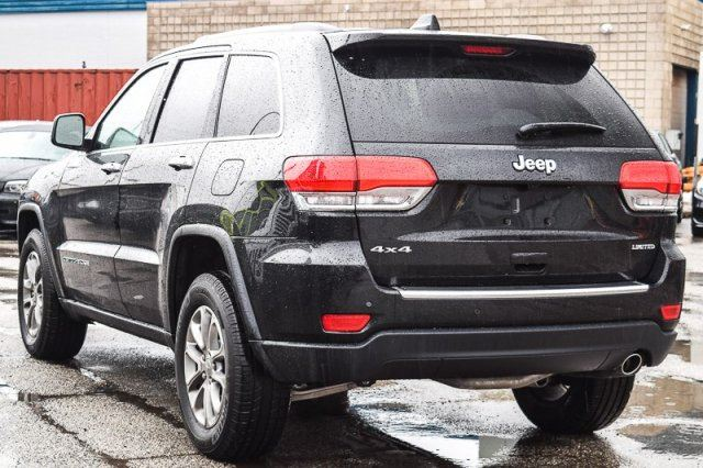 2016 jeep grand cherokee limited 4x4 nav backup cam leather rear parksense 18alloys thornhill. Black Bedroom Furniture Sets. Home Design Ideas