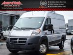 2016 Ram Promaster High Roof Backup Cam 3 Passenger Bluetooth AC Sat Radio in Thornhill, Ontario