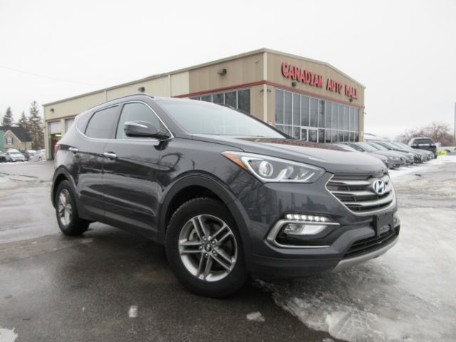 2017 hyundai santa fe se awd roof htd leather 23k stittsville ontario used car for sale. Black Bedroom Furniture Sets. Home Design Ideas