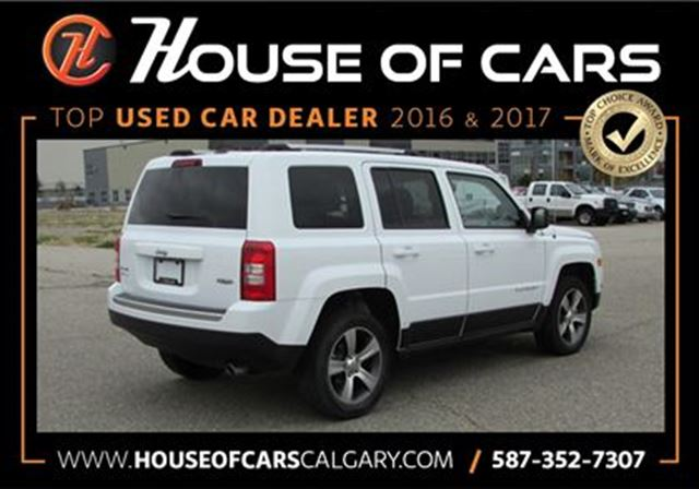 2016 jeep patriot high altitude calgary alberta used. Black Bedroom Furniture Sets. Home Design Ideas