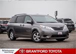 2016 Toyota Sienna Power Sliding Doors, Carproof Clean, LE 8 Passenge in Brantford, Ontario