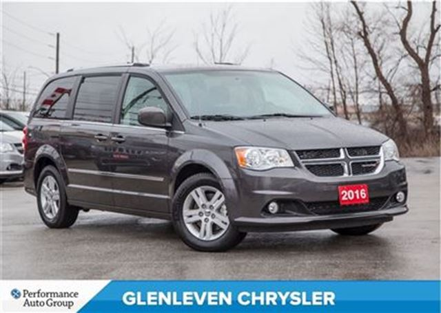 2016 dodge grand caravan crew stow 39 n go alloys low mileage dark grey. Cars Review. Best American Auto & Cars Review