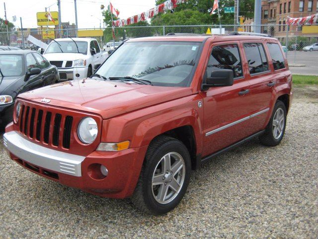 2008 jeep patriot limited 4dr 4x4 edmonton alberta car. Black Bedroom Furniture Sets. Home Design Ideas
