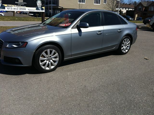 2010 Audi A4 2.0T AWD auto loaded leather roof ex cond in Ottawa, Ontario
