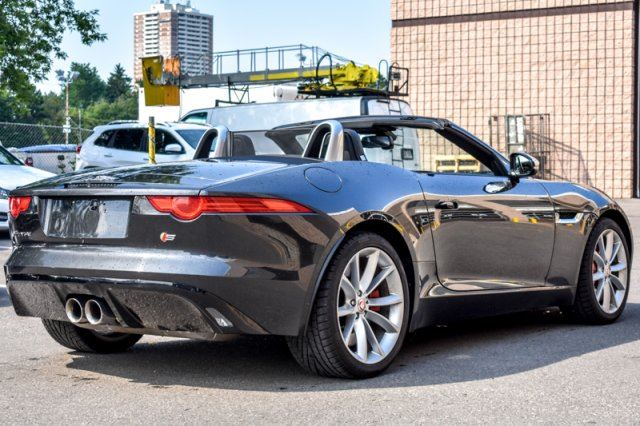 used 2015 jaguar f type v6 s supercharged performance. Black Bedroom Furniture Sets. Home Design Ideas
