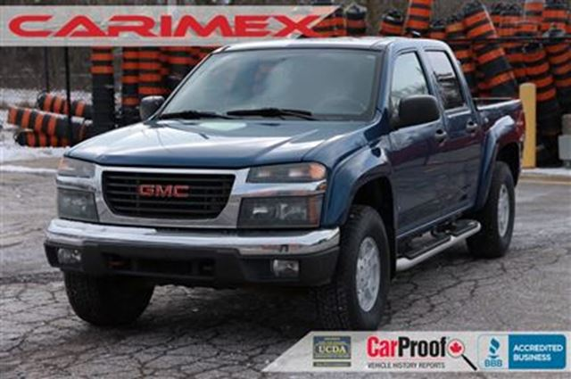 2006 gmc canyon sle 4x4 certified e tested kitchener ontario used car for sale 2689919. Black Bedroom Furniture Sets. Home Design Ideas