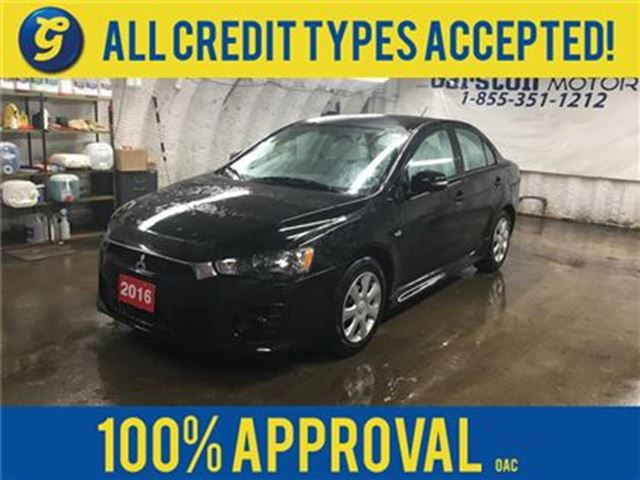 2016 MITSUBISHI LANCER SE*CVT*PHONE CONNECT*TRACTION CONTROL*HEATED SEATS in Cambridge, Ontario