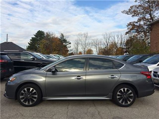 used 2016 nissan sentra 4 cy 1 8 sr nav roof leather. Black Bedroom Furniture Sets. Home Design Ideas