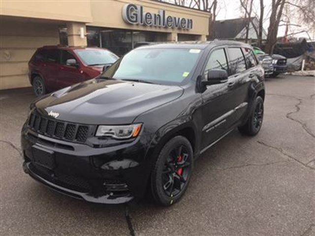 2017 jeep grand cherokee new srt red leather high performance audio pack oakville ontario. Black Bedroom Furniture Sets. Home Design Ideas