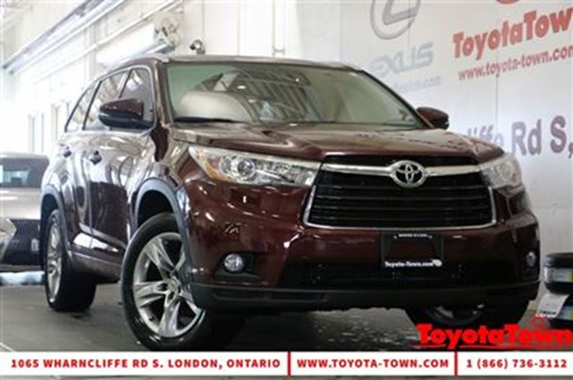 2015 toyota highlander limited v6 awd low mileage london ontario used car for sale 2689912. Black Bedroom Furniture Sets. Home Design Ideas