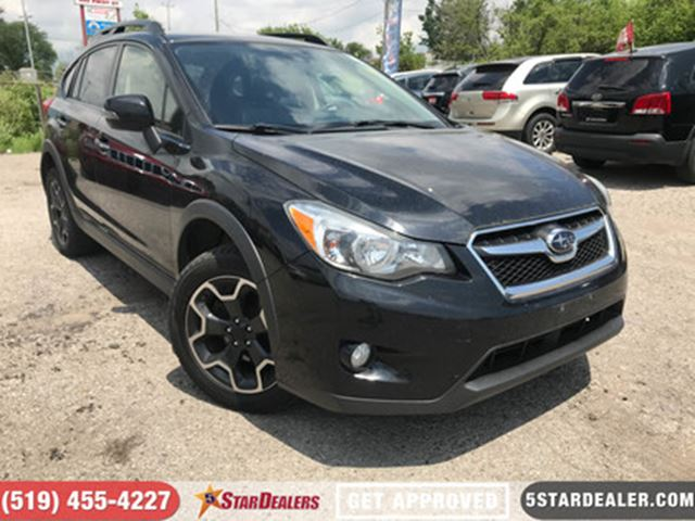 2013 SUBARU XV CROSSTREK Limited   AWD   NAV   LEATHER   ROOF in London, Ontario