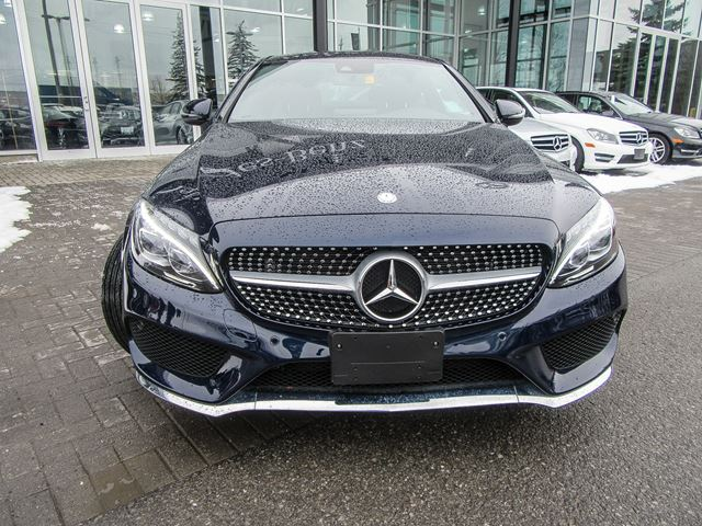 2017 mercedes benz c class c300 4matic coupe ottawa for Mercedes benz ontario ca