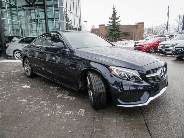2017 mercedes benz c class c300 4matic coupe ottawa for Used mercedes benz c300 4matic for sale