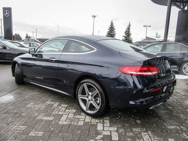 2017 mercedes benz c class c300 4matic coupe ottawa for Mercedes benz c class 300 for sale