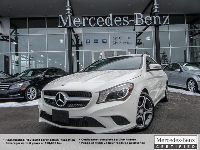 2014 mercedes benz cla250 coupe ottawa ontario used car for Mercedes benz cla250 used