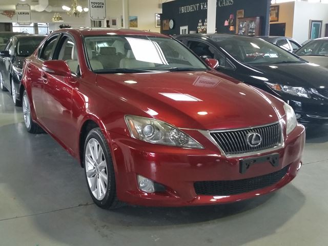 2010 lexus is 250 toronto ontario used car for sale 2690319. Black Bedroom Furniture Sets. Home Design Ideas
