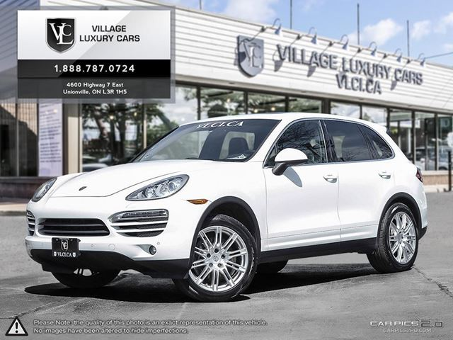 2013 PORSCHE CAYENNE Base NEW WHEELS AND TIRES   NAVIGATION   BLIND SPOT ASSIST   CANADIAN in Markham, Ontario