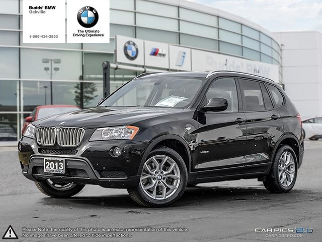 2013 bmw x3 xdrive28i oakville ontario used car for sale 2690094. Black Bedroom Furniture Sets. Home Design Ideas