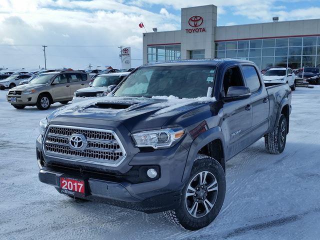 2017 toyota tacoma trd 4x4 sport lindsay ontario car for sale 2690024. Black Bedroom Furniture Sets. Home Design Ideas