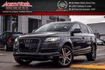 2014 Audi Q7 3.0T Technik 4x4 7-Seater Seat&Sky Pkg Nav BOSE Clean CarProof 20Alloys in Thornhill, Ontario