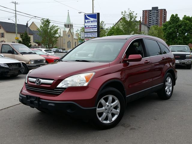 2007 honda cr v ex l ottawa ontario used car for sale 2689644. Black Bedroom Furniture Sets. Home Design Ideas