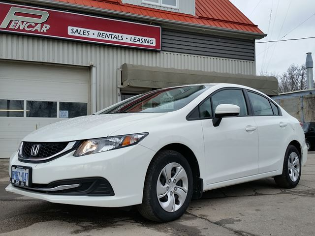 2015 honda civic lx previous rental vehicle brantford for Honda civic 2015 for sale