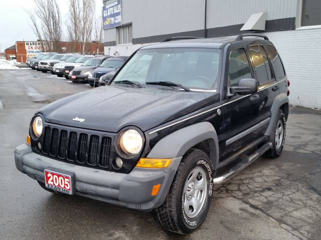 2005 jeep liberty sport brampton ontario used car for. Black Bedroom Furniture Sets. Home Design Ideas