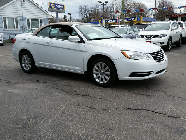 2014 chrysler 200 touring convertible barrie ontario used car for. Cars Review. Best American Auto & Cars Review