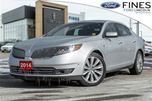 2014 Lincoln MKS EcoBoost -1 OWNER, THX, ROOF, NAVI, CLIMATE PKG SO in Bolton, Ontario