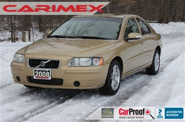 2008 volvo s60 2 5t awd certified gold carimex auto. Black Bedroom Furniture Sets. Home Design Ideas