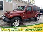 2009 Jeep Wrangler Unlimited Sahara in Tilbury, Ontario