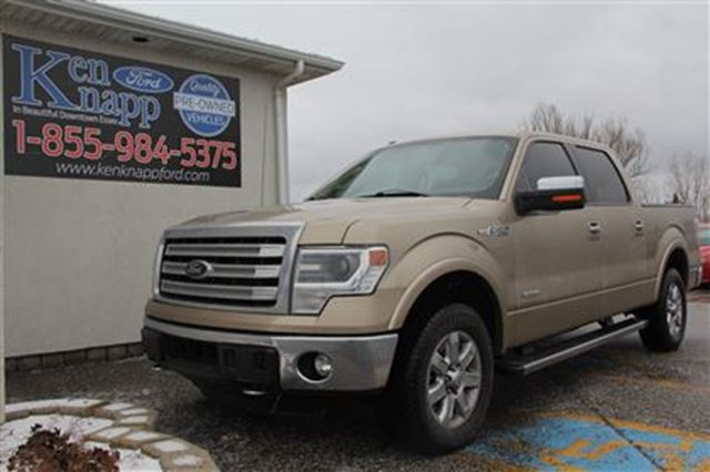 2014 ford f 150 lariat essex ontario used car for sale 2690630. Black Bedroom Furniture Sets. Home Design Ideas