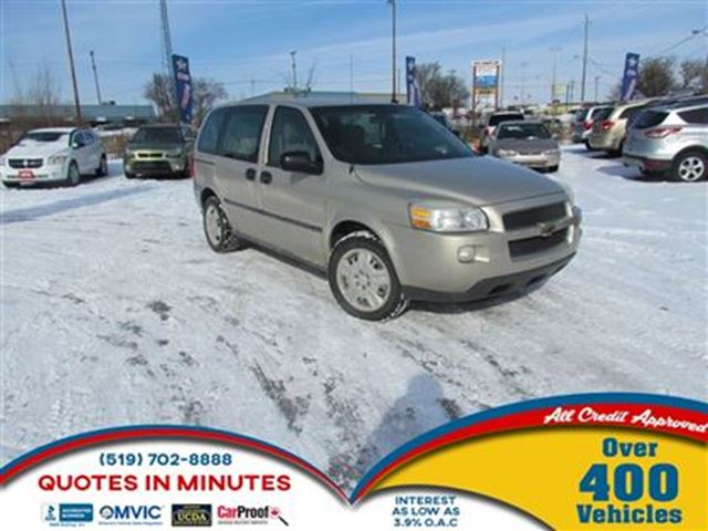 2008 Chevrolet Uplander LS   CONTACT FOR PRICE in London, Ontario