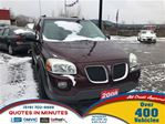 2008 Pontiac Montana SV6 FWD   VAN LOANS FOR ALL CREDIT in London, Ontario